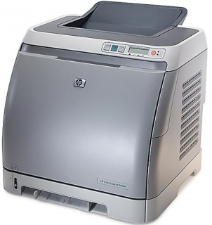 Принтер HP Color LaserJet 2600 картинка