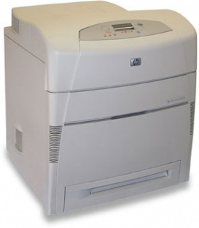 Принтер HP Color LaserJet 5550 картинка